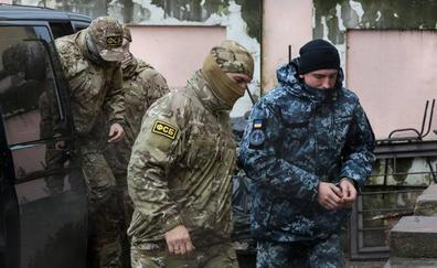 Prolongan el arresto de los marinos ucranianos capturados en el estrecho de Kerch hasta el 24 de abril