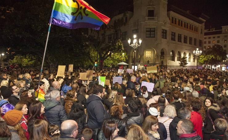 Las feministas llaman en Santander a no dar un paso atrás en los derechos de las mujeres
