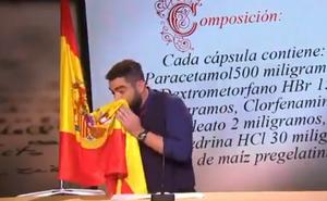 El juez archiva la causa contra Dani Mateo por ultraje a la bandera