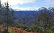 De ruta por el Valle de Cereceda y el Pico Jano, frente a los Picos