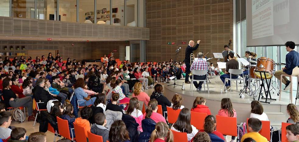 El Centro Botín enseña a los niños el potencial de la música