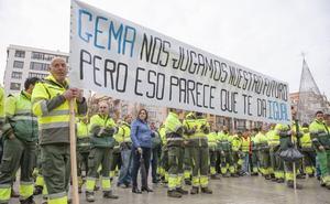Los trabajadores de Parques y Jardines se movilizarán en lugares emblemáticos de Santander
