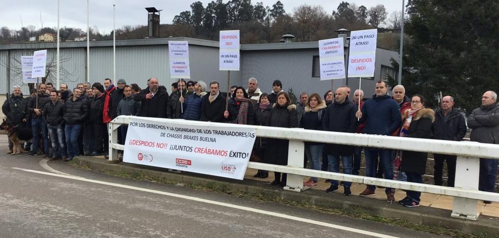Los trabajadores de Chassis Brakes piden la vuelta al diálogo con la empresa