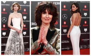 Los Premios Feroz, todo un escaparate de moda
