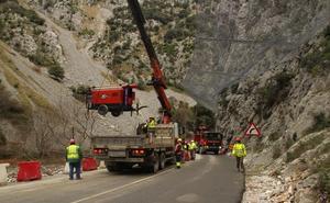 Los alcaldes lebaniegos quieren que Zuloaga aclare si las obras del Desfiladero se han paralizado