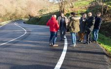 Obras Públicas elimina un 'punto negro' en la carretera que une Cartes y Bedicó