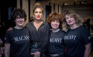 Así vivieron los Premios Feroz los estilistas santanderinos de Macavi