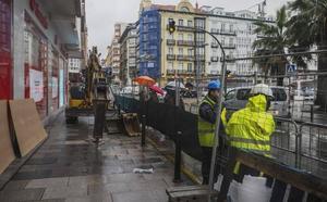 Arrancan las obras en la calle Isabel II de Santander