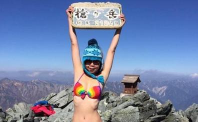 La famosa 'escaladora en bikini' Gigi Wu muere de hipotermia al caer por un barranco