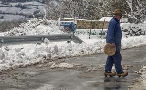 El temporal de nieve será «muy fuerte» esta tarde y no cesará hasta el jueves