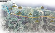 El tramo entre Treto y Vizcaya del tren a Bilbao costaría 900 millones e iría en un 81% bajo suelo