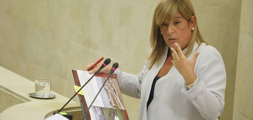 Cortabitarte sustituirá a Ruth Beitia en el Parlamento regional