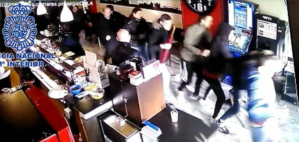 Identificados ocho jóvenes, dos menores, que participaron en los altercados antes del partido Logroñés-Racing