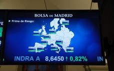 El Ibex 35 vuelve a los 9.100 puntos mes y medio después y lidera Europa