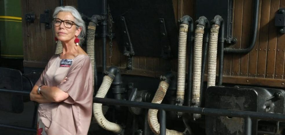 La santanderina Maite Arce, la fuerza convertida en seda