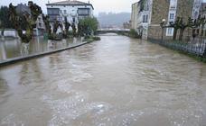 Inundaciones en la comarca del Asón