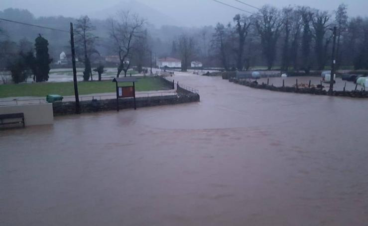 Cantabria inundada