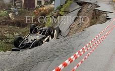 Un fallecido tras producirse un desprendimiento en Asturias y alcanzar a su vehículo