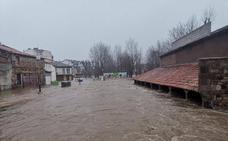 Imágenes de las inundaciones en Reinosa