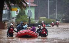 En Mazcuerras «hay viviendas aisladas, con dos metros de agua a su alrededor»