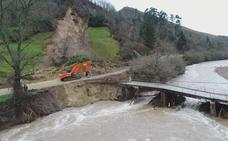 Ocho carreteras continúan cortadas por los argayos, que superan los 170