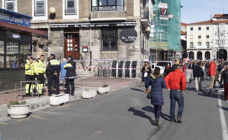 Desalojado un edificio en Castro Urdiales