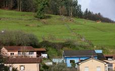 Un argayo en San Mateo obliga a desalojar cinco viviendas