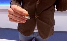 La moneda que aparece por arte de magia