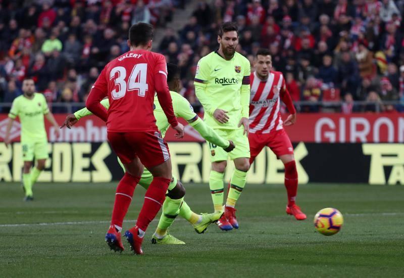 Las mejores imágenes del Girona-Barcelona