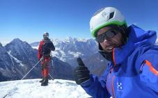 Chavi conquista la montaña más bella