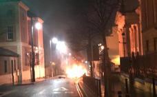 Un grupo autodenominado IRA se atribuye el atentado en Derry