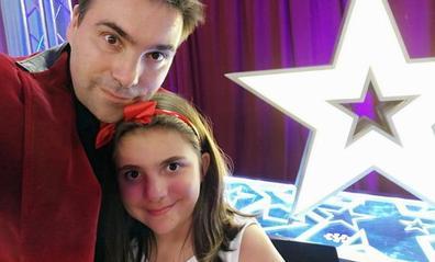 La santanderina Mágica Estela y su amiga invisible Raimundita conquistan 'Got Talent'