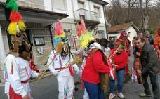 La asociación Andruido en la Paré de Piasca participó en la Mascarada Ibérica