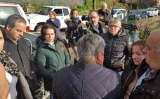 El Gobierno ofrece ocho viviendas a los afectados por el argayo de San Mateo