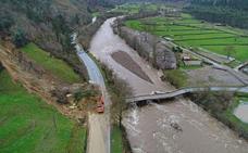 El acceso principal al valle de Cabuérniga no se abrirá hasta dentro de tres semanas
