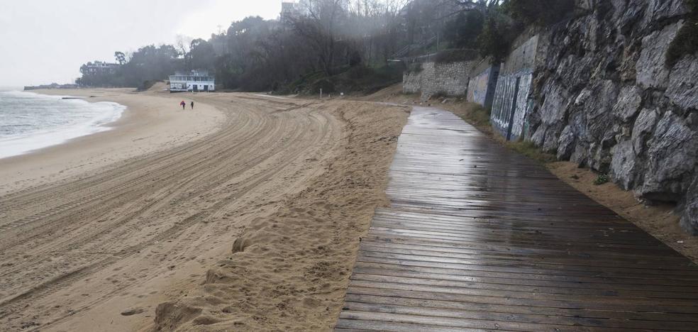 Las mareas dañan más La Magdalena e Igual urge ya soluciones al Ministerio
