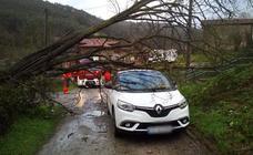 El mal tiempo está provocando numerosos incidentes en el tráfico