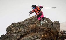 Julián Puras disputará el Europeo de freeride en la estación de La Clusaz en los Alpes franceses
