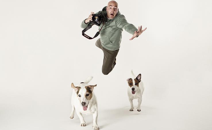 El 'fotografo de los perros' visitó Cantabria cámara en mano