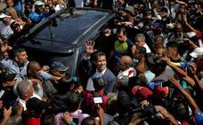 Guaidó recibe este lunes el reconocimiento de una parte de Europa