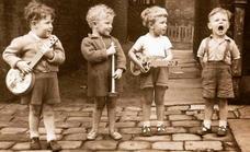 Recordando las canciones infantiles