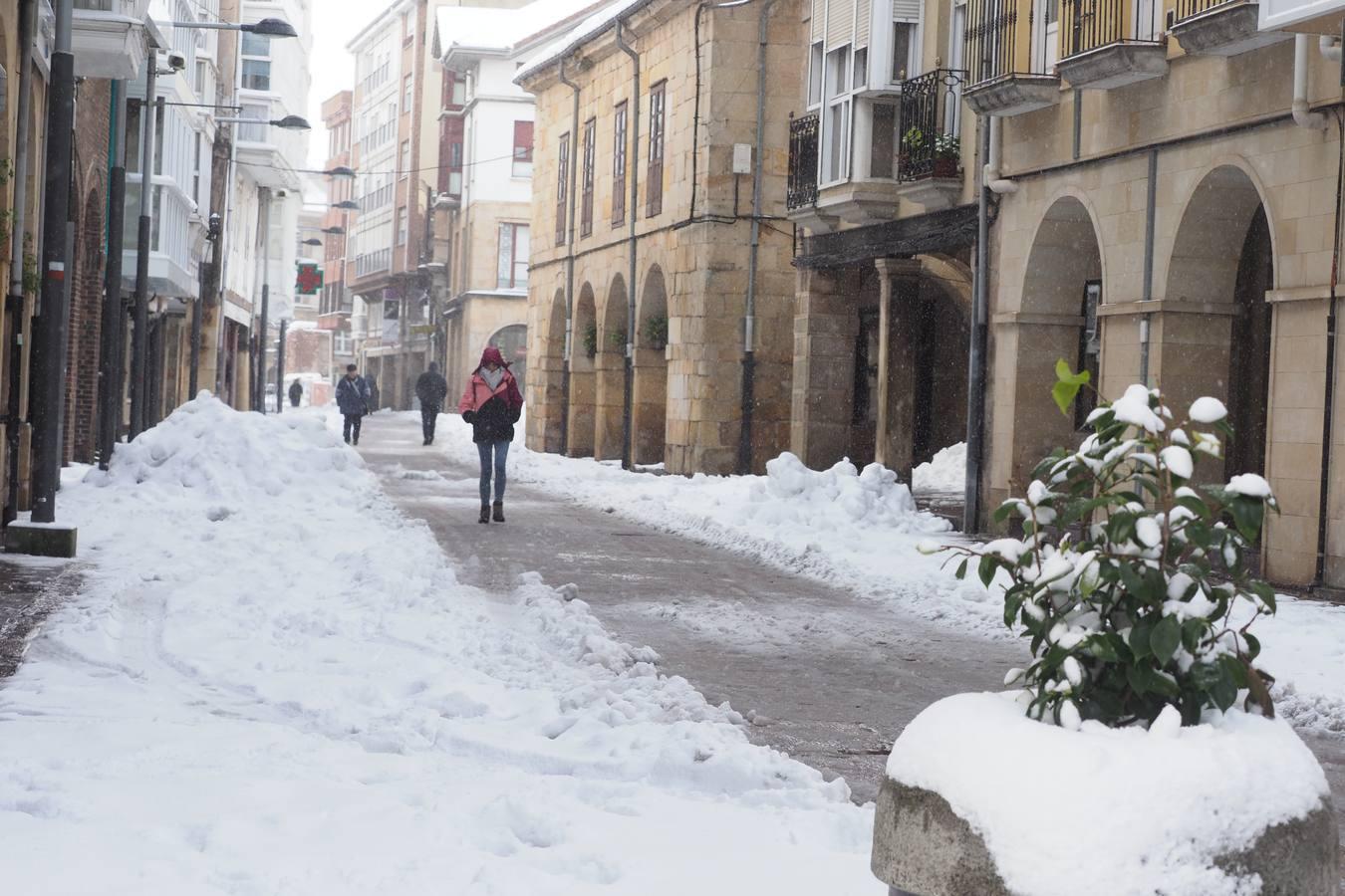 'Helena' viste de blanco los paisajes de Campoo