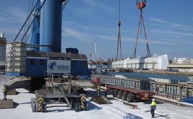 El tráfico de mercancías en el Puerto de Santander creció un 6,4% en 2018, en niveles de antes de la crisis