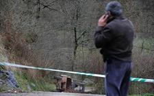 Fallece un operario de la Mancomunidad del Nansa cuando retiraba tierra de un argayo en Cabrojo