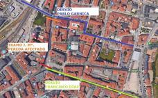 Cortes de tráfico en José María Pereda el próximo miércoles
