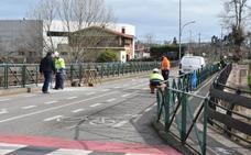 Comienzan las obras de ampliación del puente que comunica Cartes con Santiago