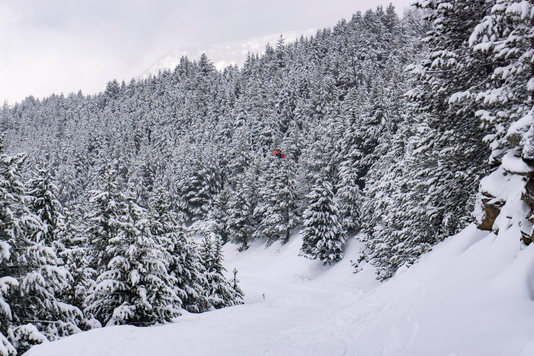 El amargo fin de semana de la nieve