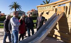 Gobierno y Bezana reforman el antiguo edificio de Rada y 15 parques infantiles
