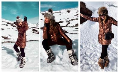 La moda apres-ski se traslada a las calles cántabras