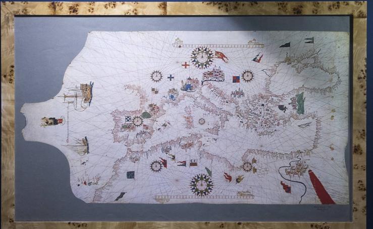 Exposición 'La mar de cartas' en el Museo Martítimo